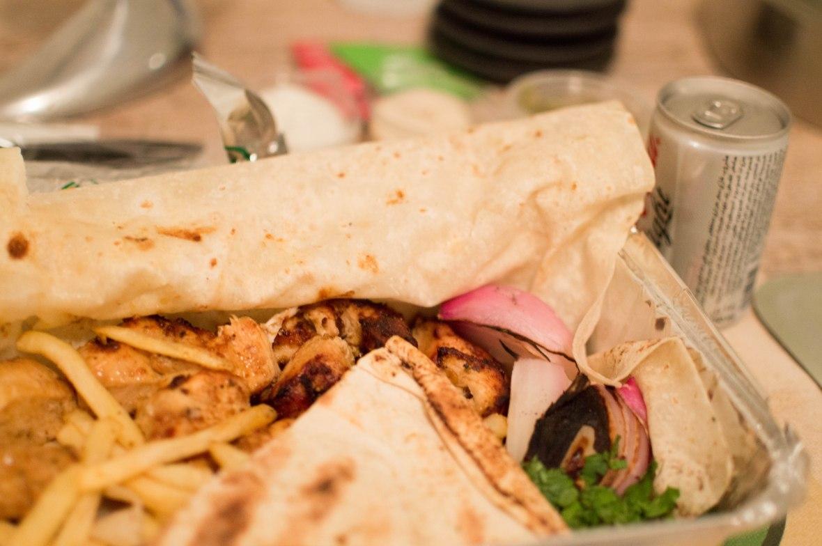 Shish Taouk Takeaway, Shami Restaurant, Dubai Marina, UAE