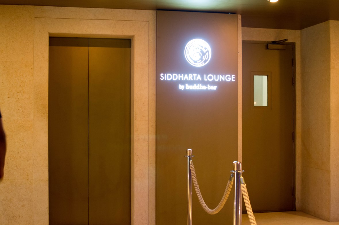 Siddharta Lounge Entrance, Dubai, UAE