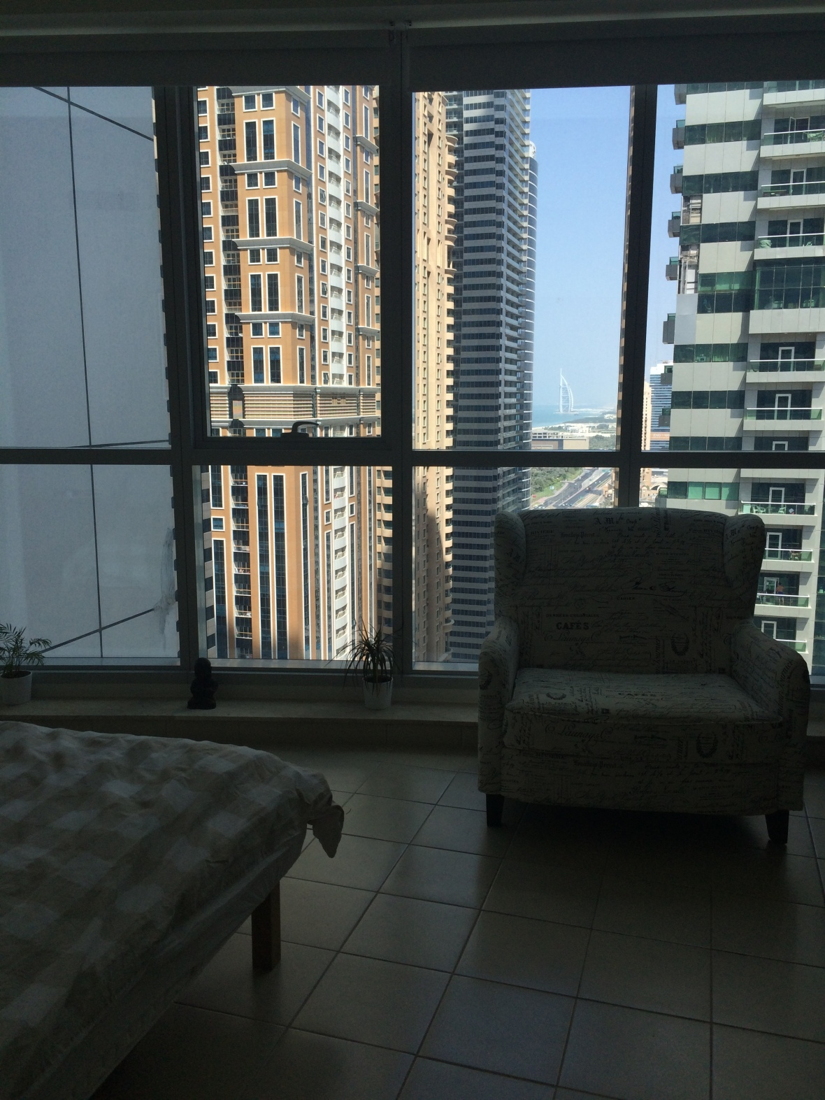 View From Bedroom, Torch Tower, Dubai, UAE