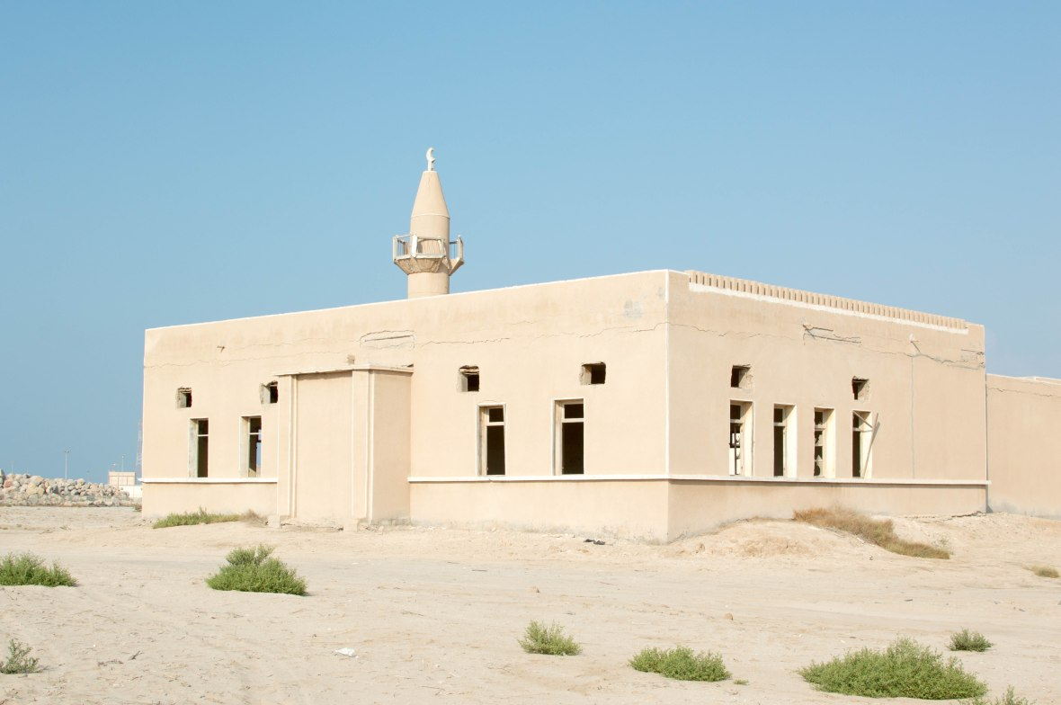 Abandoned Mosque In An Abandoned City, Al Jazirat Al Hamra, Ras Al Khaimah, UAE