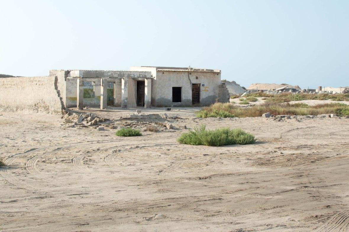 Abandoned School, Abandoned City, Al Jazirat Al Hamra, Ras Al Khaimah, UAE