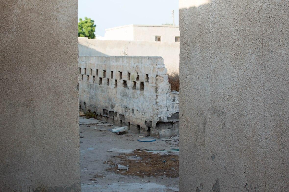 Alley, Abandoned City, Al Jazirat Al Hamra, Ras Al Khaimah, UAE