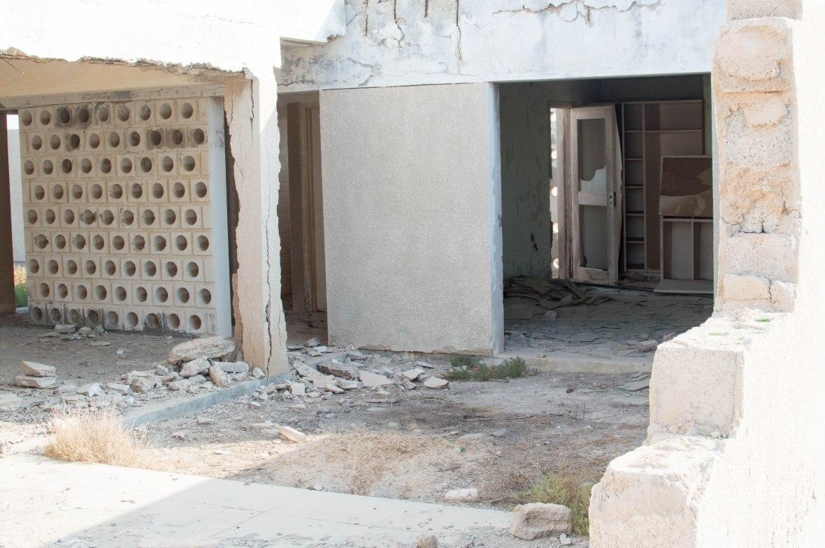 An Abandoned House, Abandoned City, Al Jazirat Al Hamra, Ras Al Khaimah, UAE