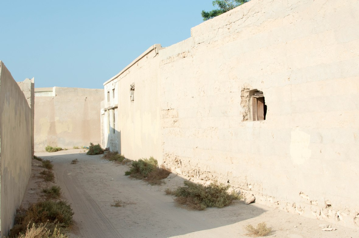 Between Homes, Abandoned City, Al Jazirat Al Hamra, Ras Al Khaimah, UAE