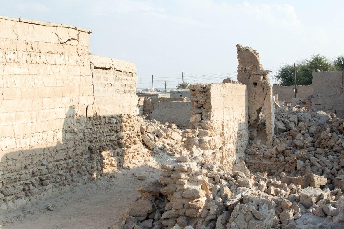 Bricks, Abandoned City, Al Jazirat Al Hamra, Ras Al Khaimah, UAE