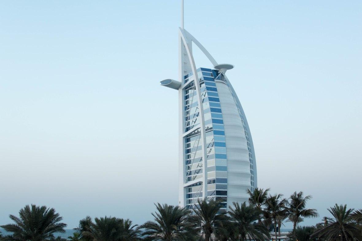 Burj Al Arab, Sun Set, Bahri Bar, Madinat Jumeirah, Dubai, UAE