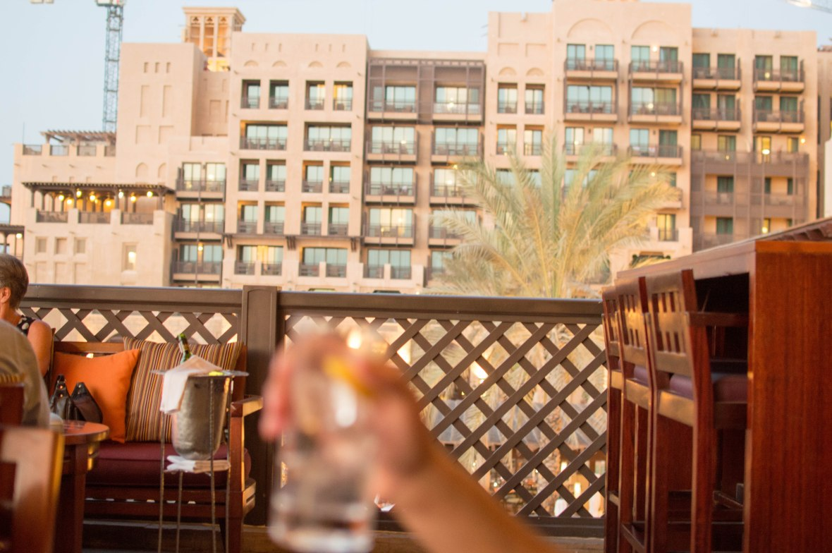 Chilling, Bahri Bar, Madinat Jumeirah, Dubai, UAE