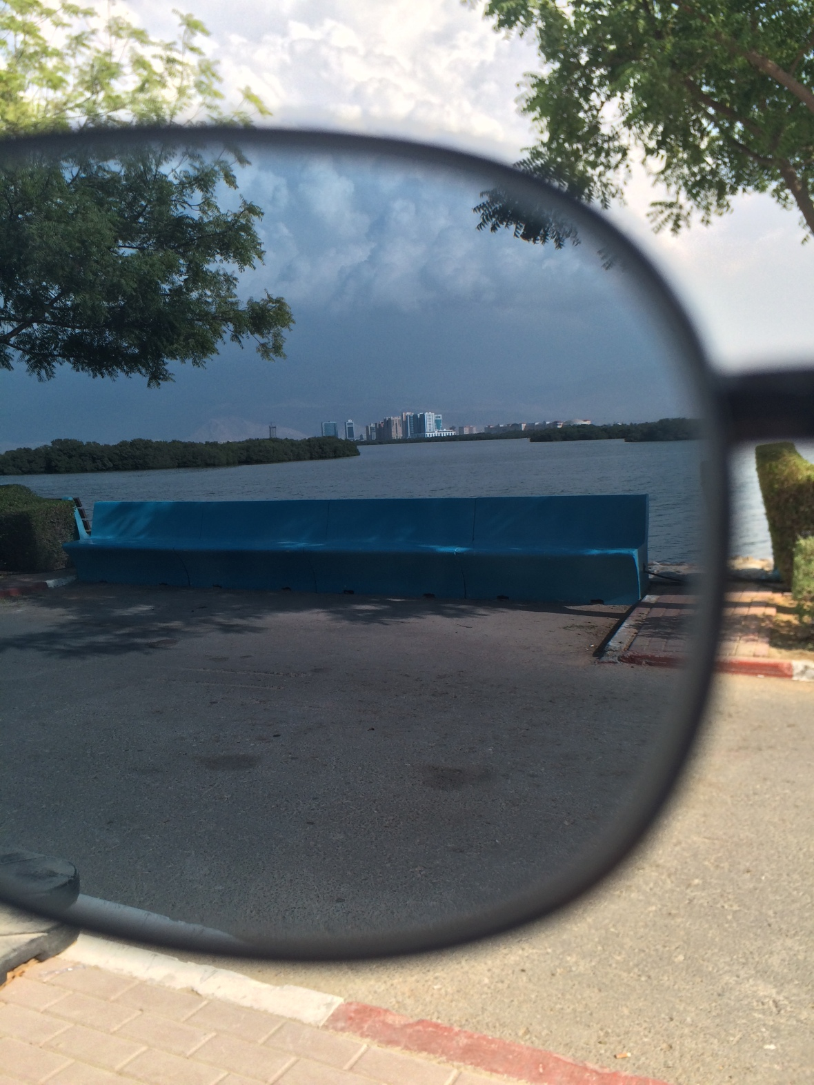 Corniche Through Sunglasses, Ras Al Khaimah, UAE