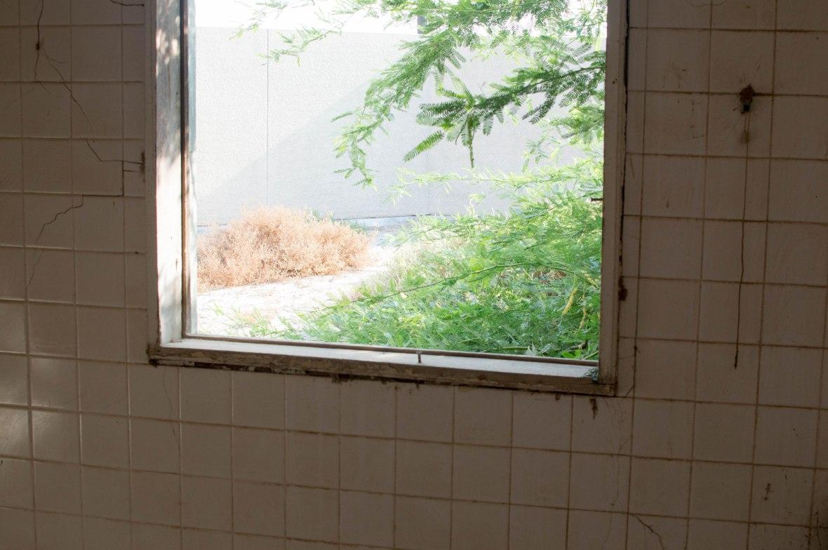 Courtyard View, Abandoned City, Al Jazirat Al Hamra, Ras Al Khaimah, UAE