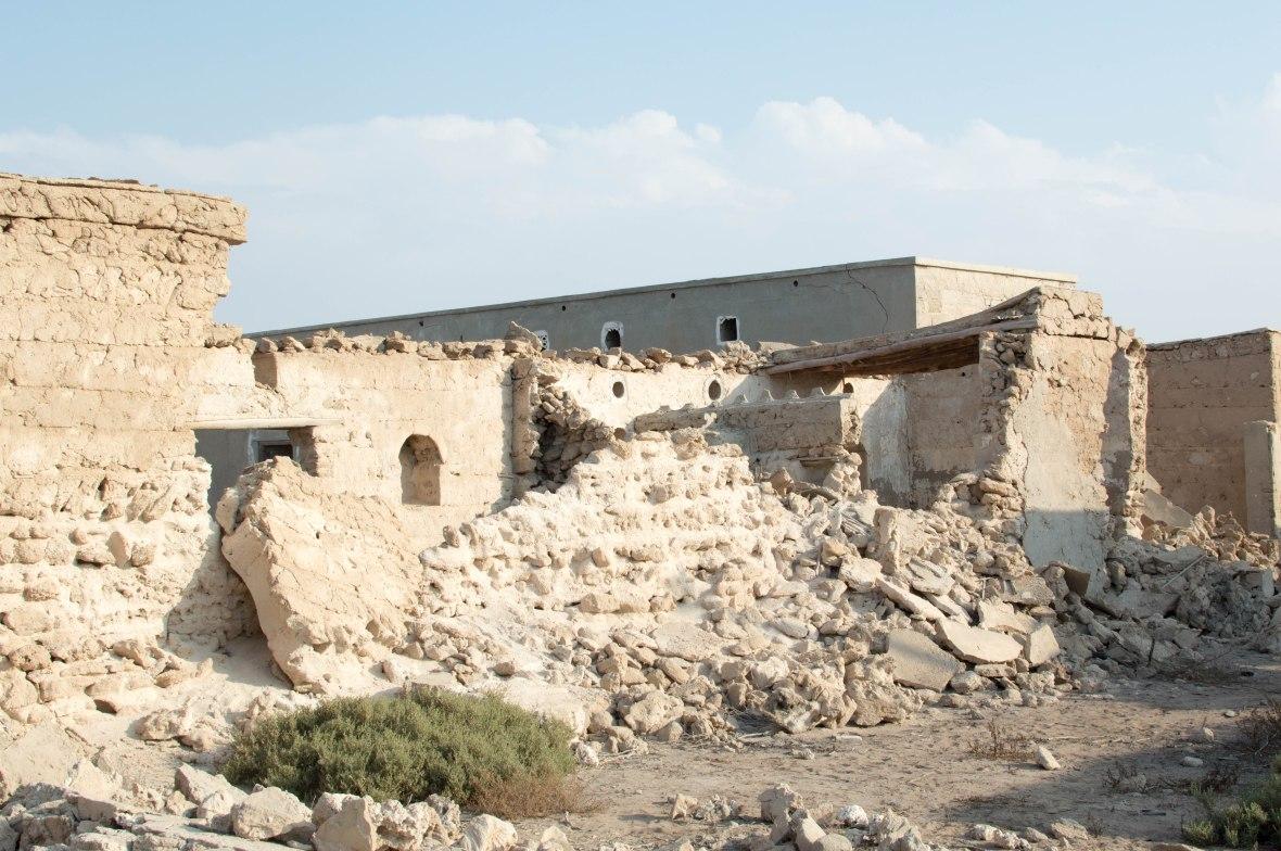Crumbling Walls, Abandoned City, Al Jazirat Al Hamra, Ras Al Khaimah, UAE