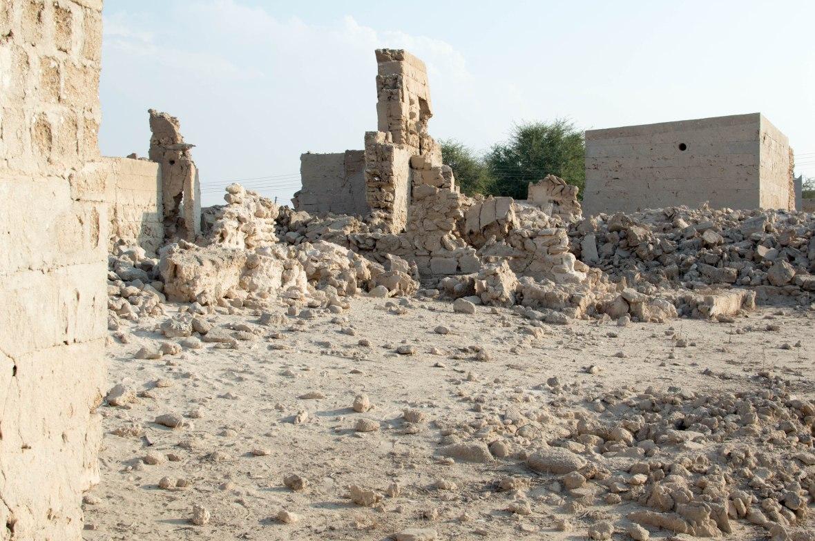 Crumbling Walls, Abandoned House, Abandoned City, Al Jazirat Al Hamra, Ras Al Khaimah, UAE