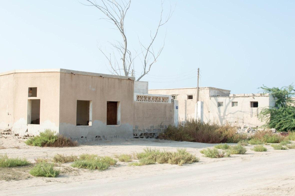 Derelict Homes, Abandoned City, Al Jazirat Al Hamra, Ras Al Khaimah, UAE