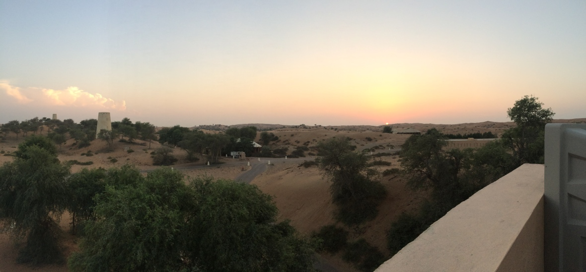 Desert Sunset, Moon Bar, Banyan Tree Al Wadi, Ras Al Khaimah, UAE