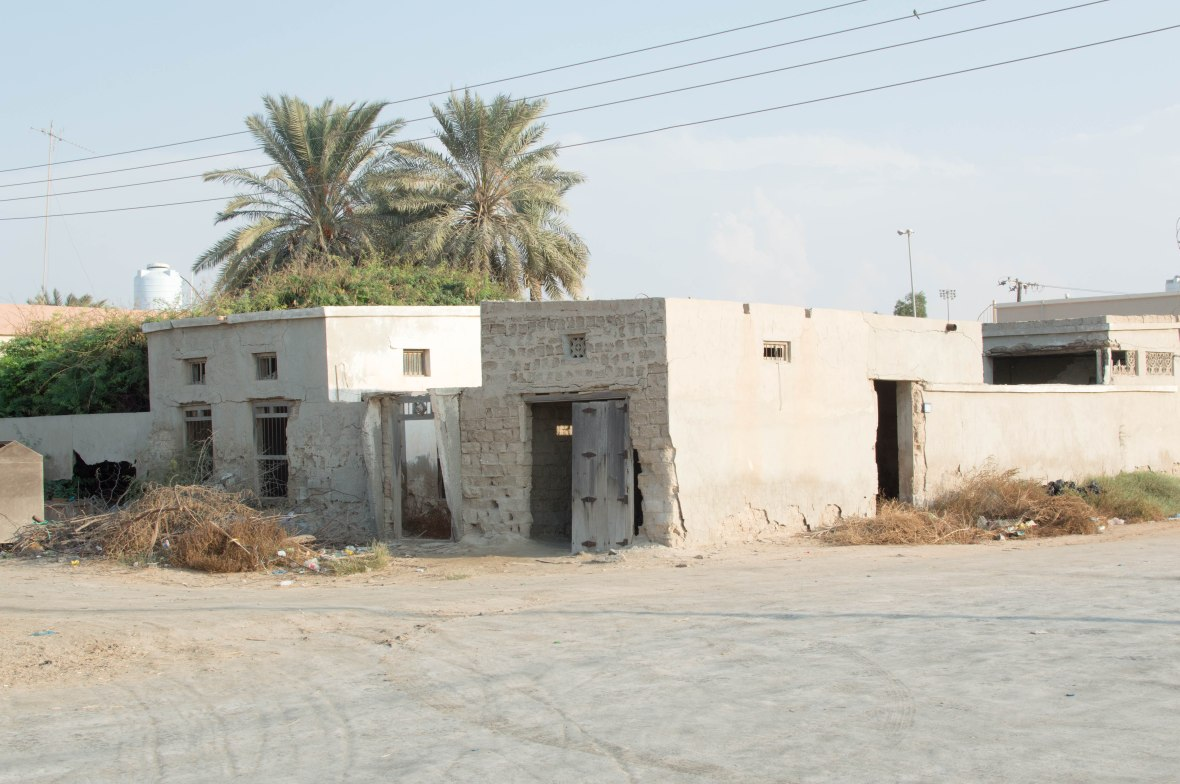 Deserted Homes, Abandoned City, Al Jazirat Al Hamra, Ras Al Khaimah, UAE