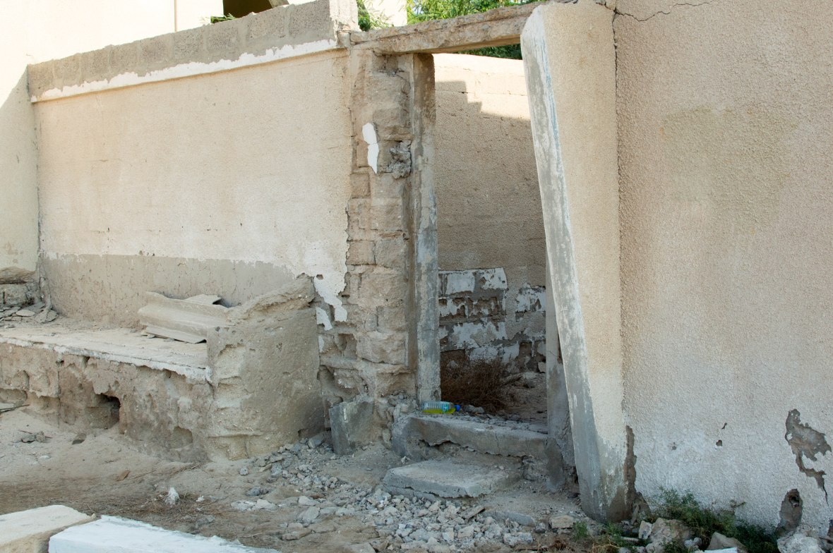 Entrance To A Home, Abandoned City, Al Jazirat Al Hamra, Ras Al Khaimah, UAE