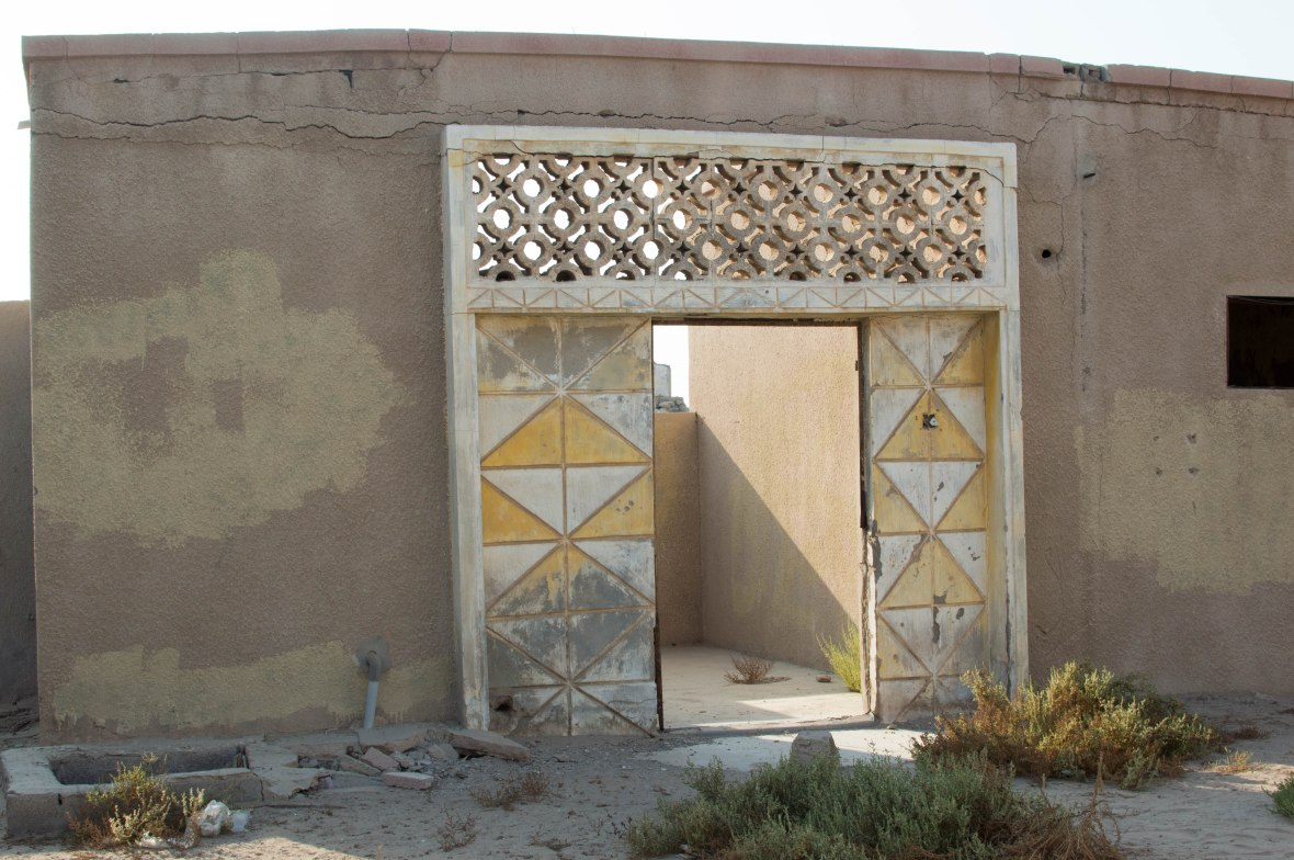 Entrance Way, Abandoned City, Al Jazirat Al Hamra, Ras Al Khaimah, UAE