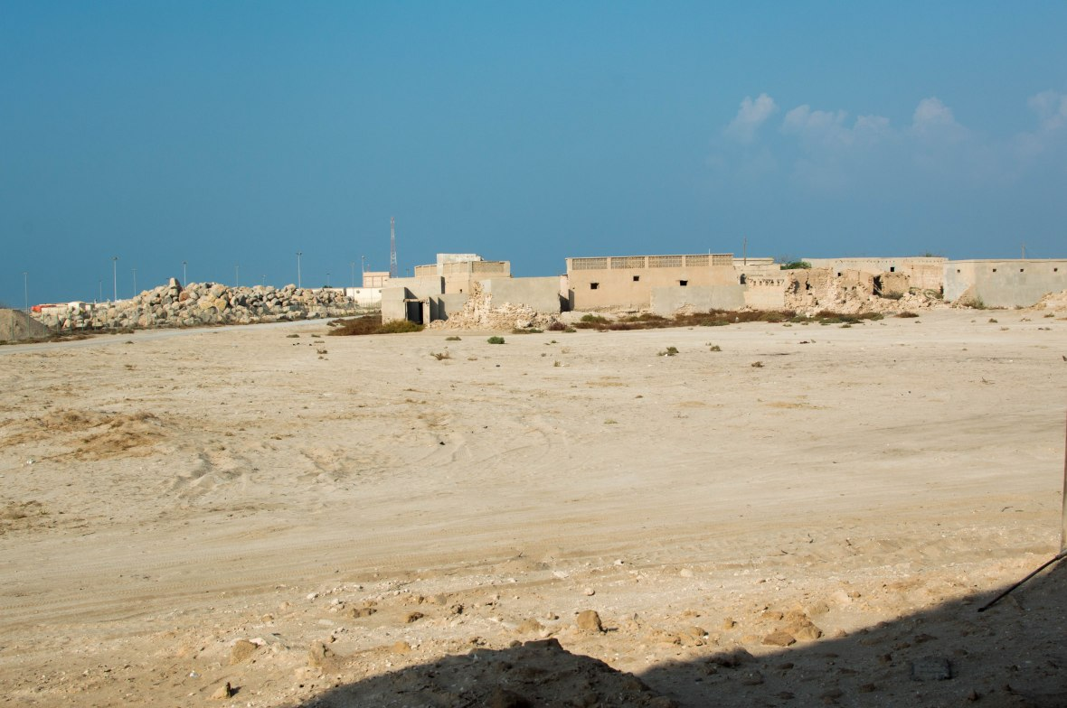 Homes, Abandoned City, Al Jazirat Al Hamra, Ras Al Khaimah, UAE