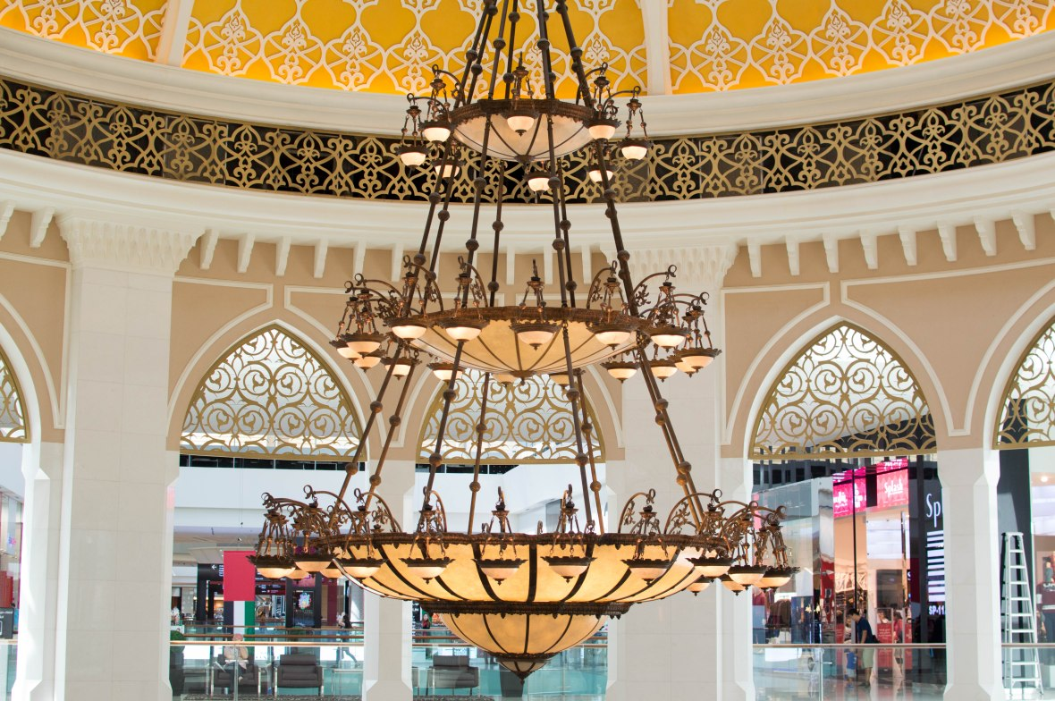 Huge Chandelier, Dubai Mall, Dubai, UAE