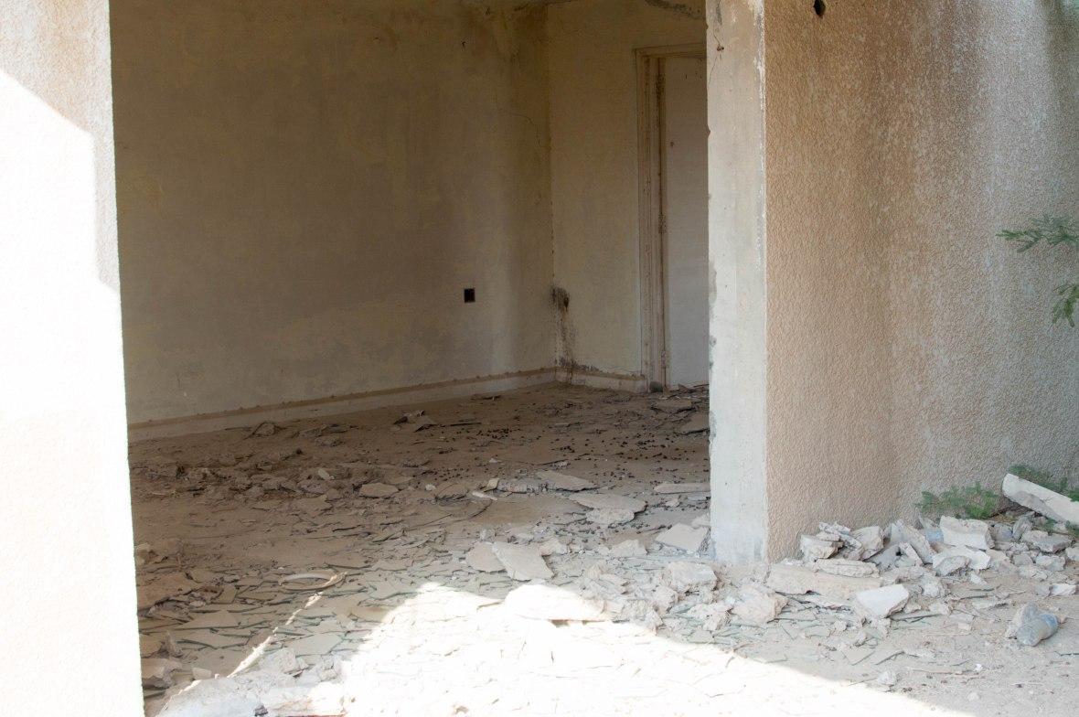 Inside A House, Abandoned City, Al Jazirat Al Hamra, Ras Al Khaimah, UAE