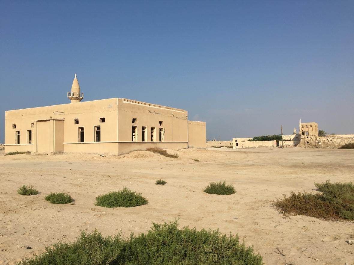 Mosque, Abandoned City, Al Jazirat Al Ramra, Ras Al Khaimah, UAE