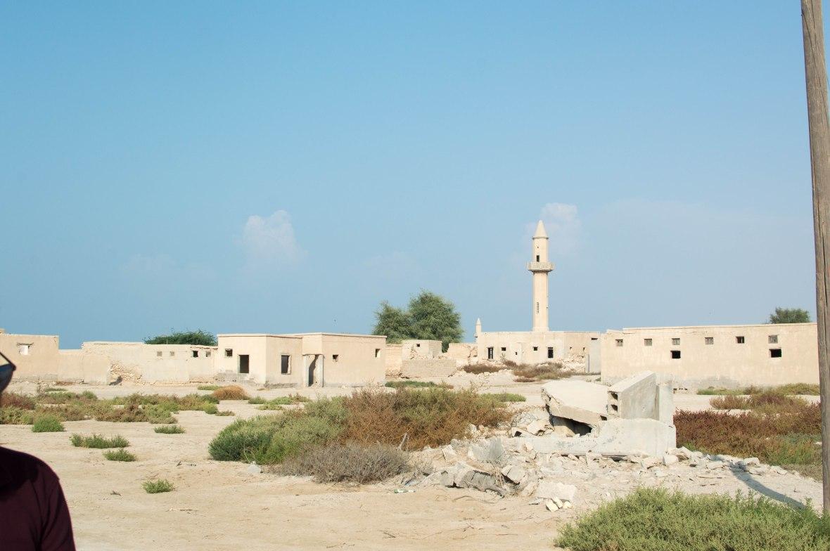 Mosque Building, Abandoned City, Al Jazirat Al Hamra, Ras Al Khaimah, UAE