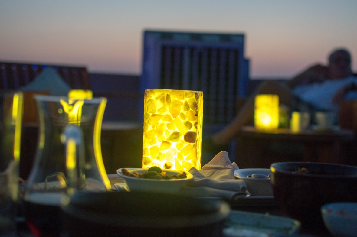 Nightfall, Moon Bar, Banyan Tree Al Wadi, Ras Al Khaimah, UAE