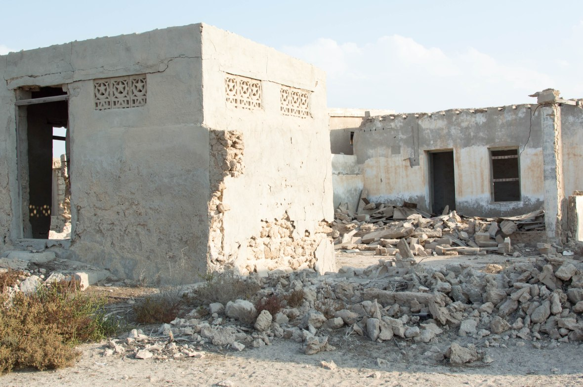 Old Homes, Abandoned City, Al Jazirat Al Hamra, Ras Al Khaimah, UAE