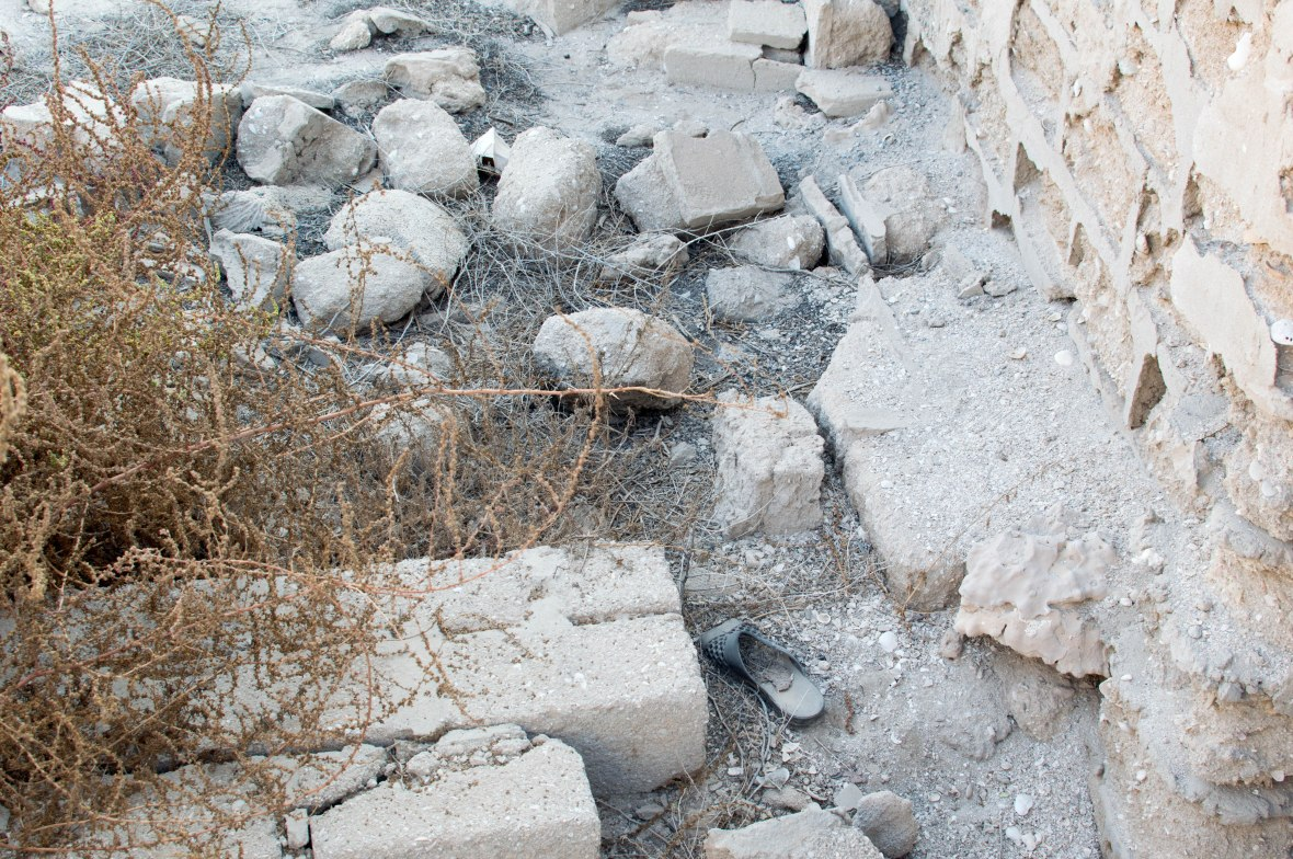 Old Sandal, Abandoned City, Al Jazirat Al Hamra, Ras Al Khaimah, UAE