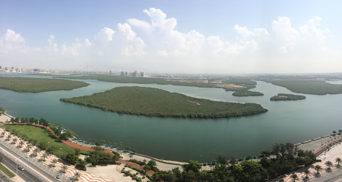 Panoramic Corniche View, Mangrove By Bin Majid, Ras Al Khaimah, UAE