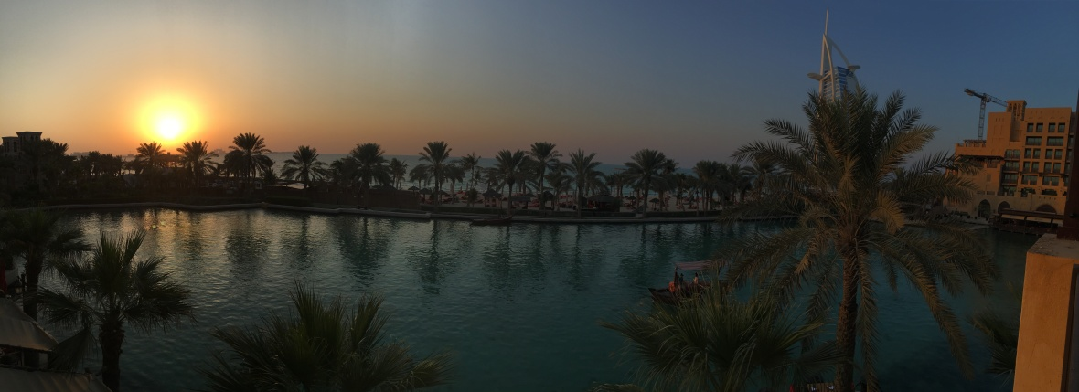 Panoramic Sunset, Bahri Bar, Madinat Jumeirah, Dubai, UAE