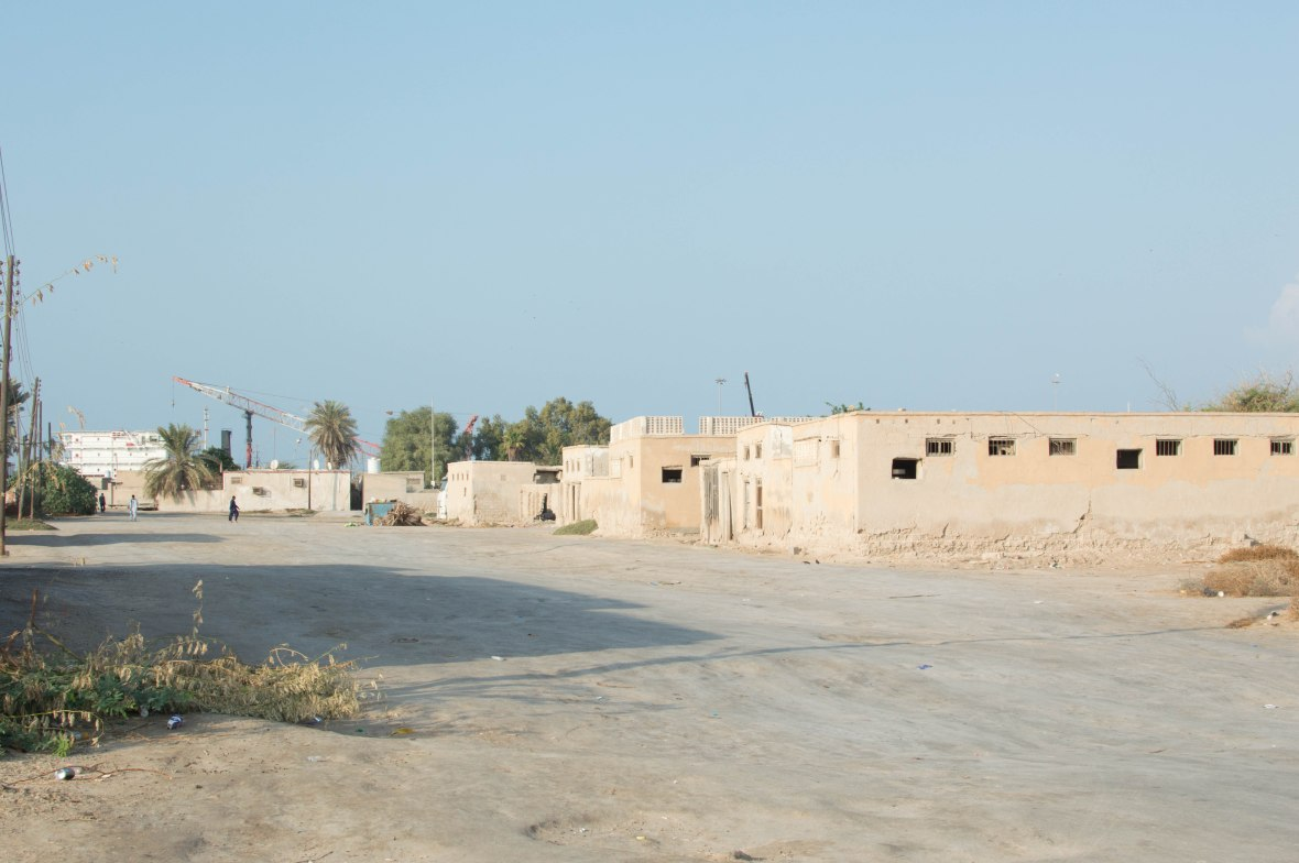 People On The Outskirts, The Abandoned City, Al Jazirat Al Hamra, Ras Al Khaimah, UAE