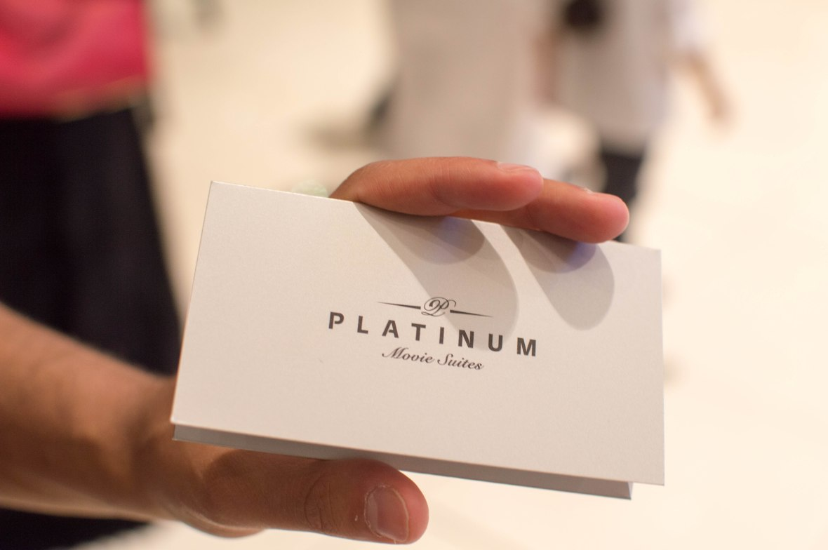 Platinum Suite Tickets, Reel Cinemas, Dubai Mall, Dubai, UAE