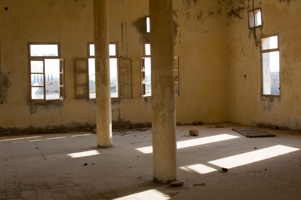 Prayer Hall, Mosque, Abandoned City, Al Jazirat Al Hamra, Ras Al Khaimah, UAE
