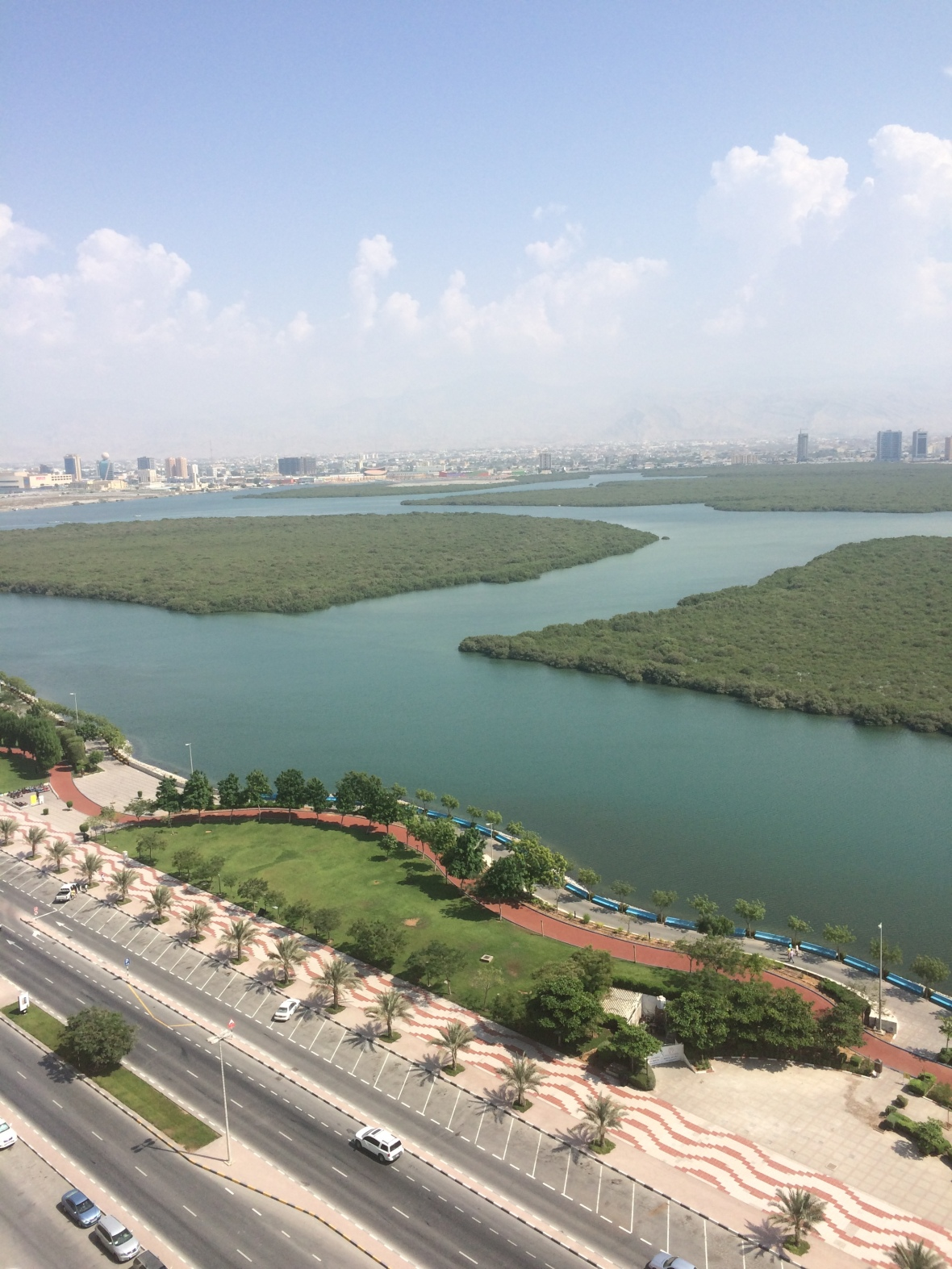 RAK City And Corniche View, Mangrove By Bin Majid, Ras Al Khaimah, UAE