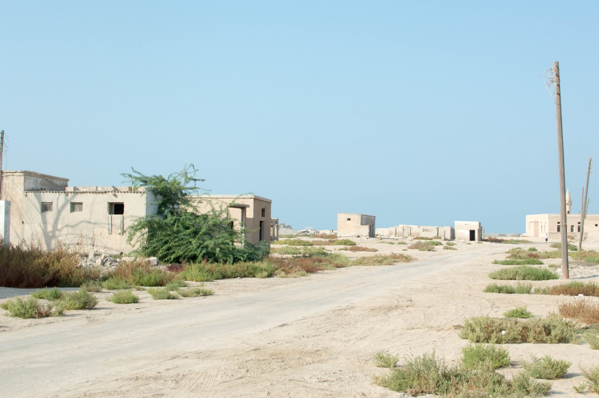 Road Views, Abandoned City, Al Jazirat Al Hamra, Ras Al Khaimah, UAE