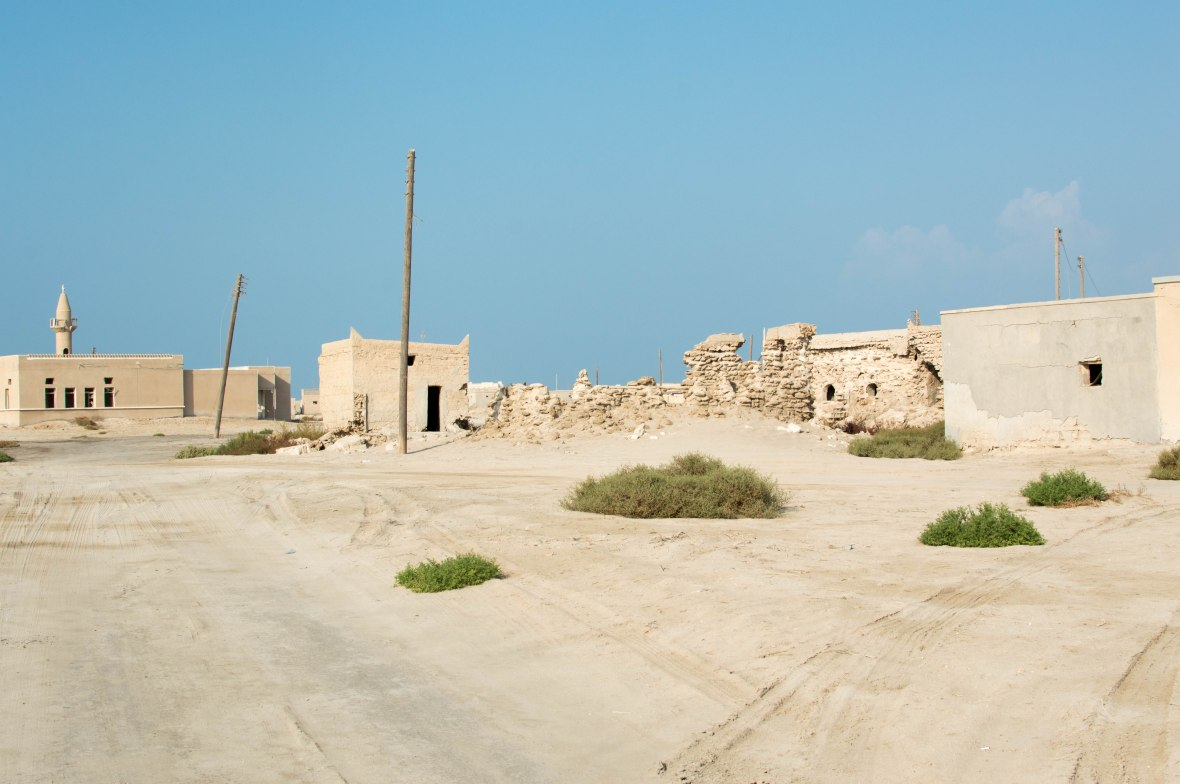 Roads, Abandoned City, Al Jazirat Al Hamra, Ras Al Khaimah, UAE