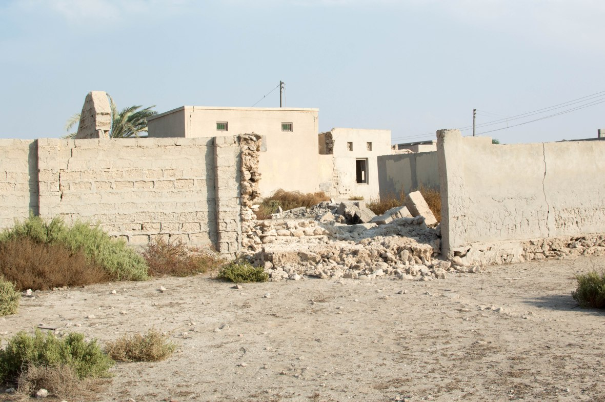 Rubble, Abandoned City, Al Jazirat Al Hamra, Ras Al Khaimah, UAE