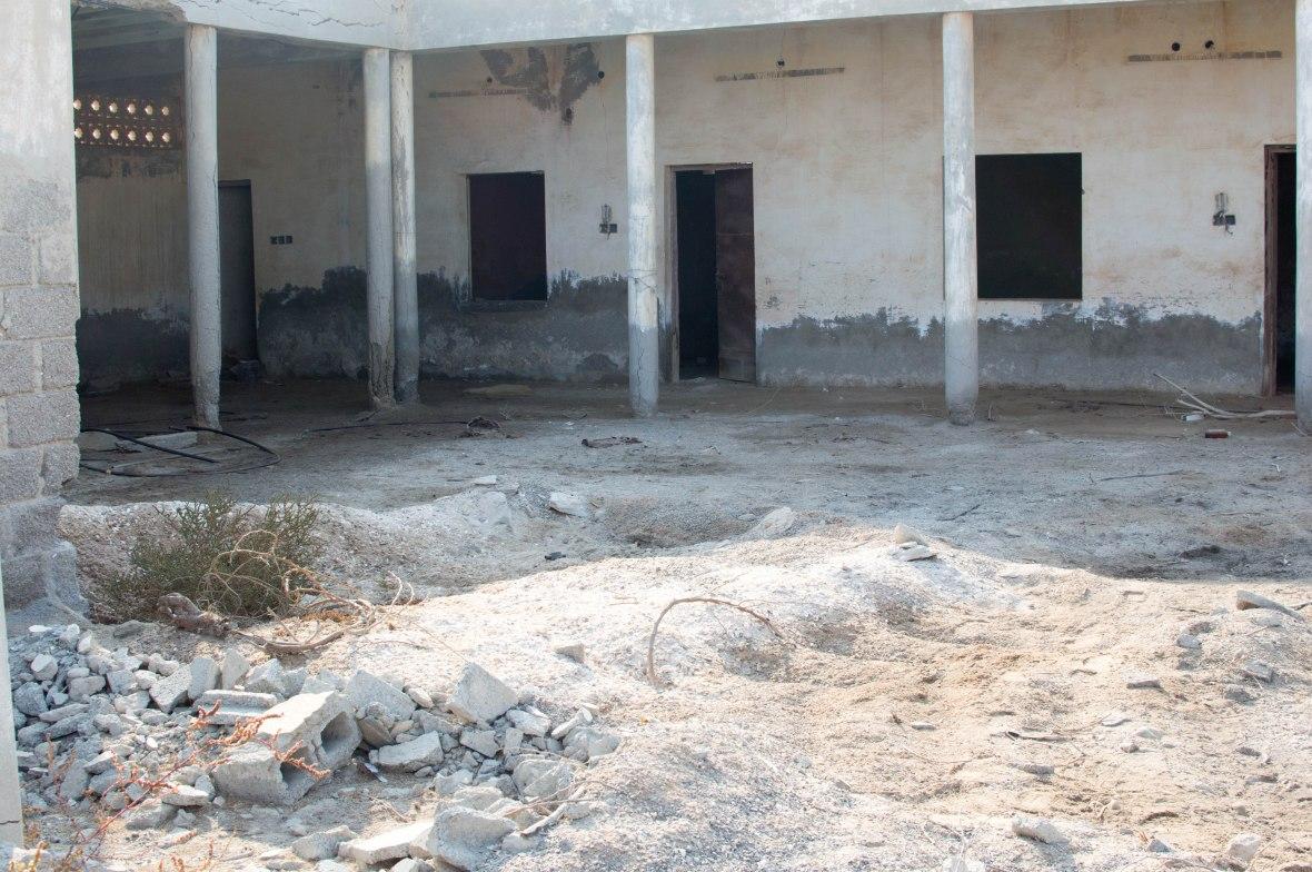 School, Abandoned City, Al Jazirat Al Hamra, Ras Al Khaimah, UAE