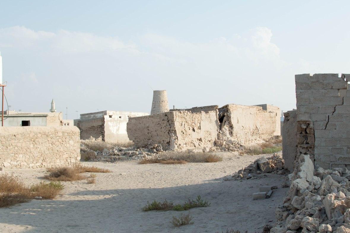 Streets, Abandoned City, Al Jazirat Al Hamra, Ras Al Khaimah, UAE