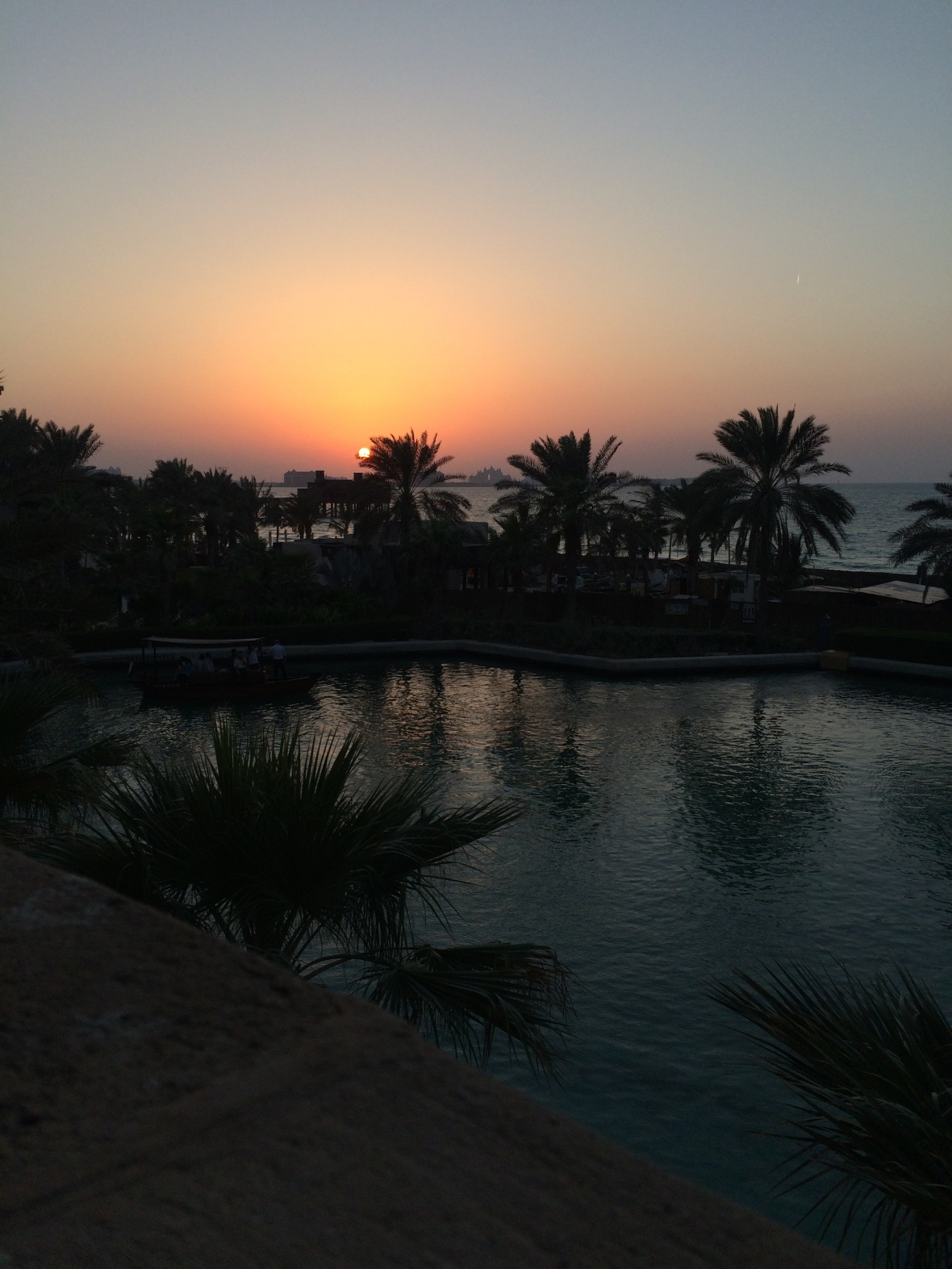 Sun Set, Bahri Bar, Madinat Jumeirah, Dubai, UAE
