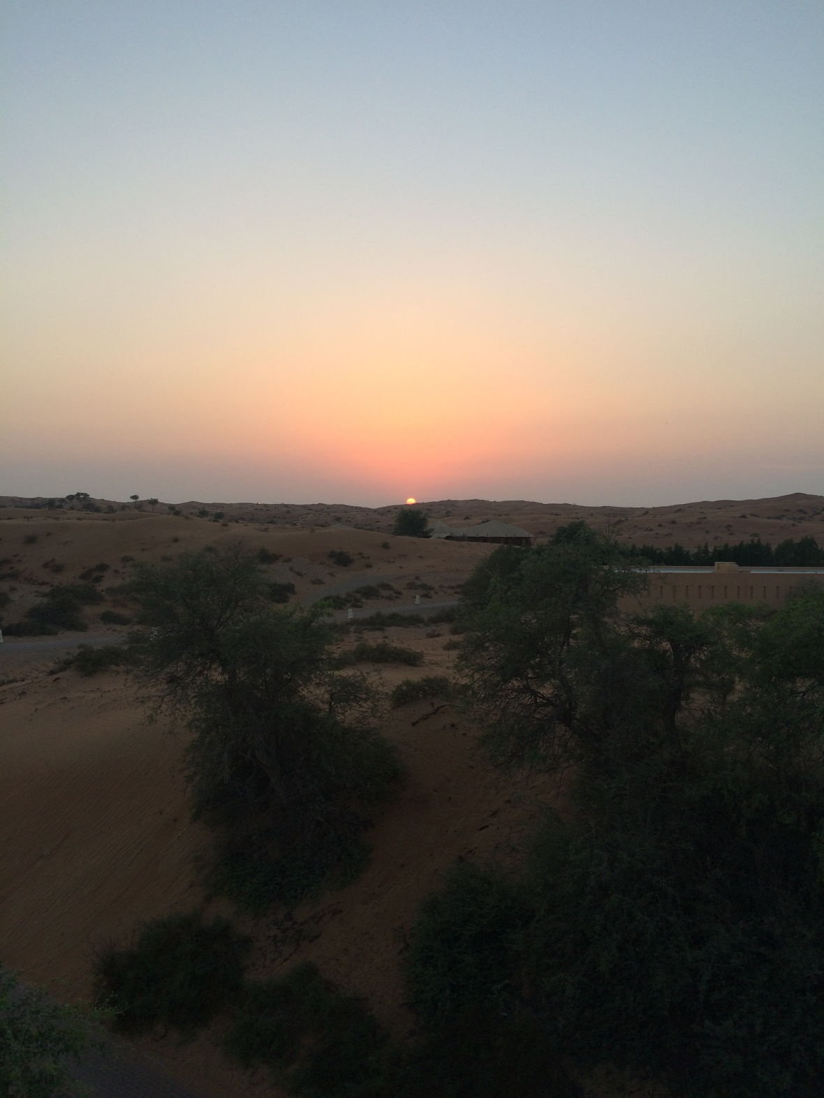 Sun Set In The Desert, Moon Bar, Banyan Tree Al Wadi, Ras Al Khaimah, UAE