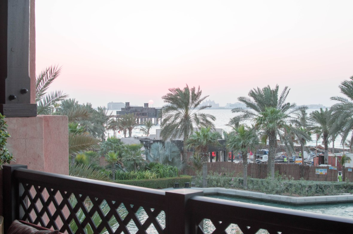 Sunset, Bahri Bar, Madinat Jumeirah, Dubai, UAE