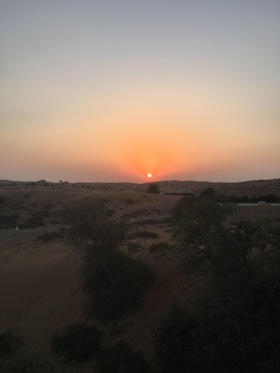Sunset In The Desert, Moon Bar, Banyan Tree Al Wadi, Ras Al Khaimah, UAE
