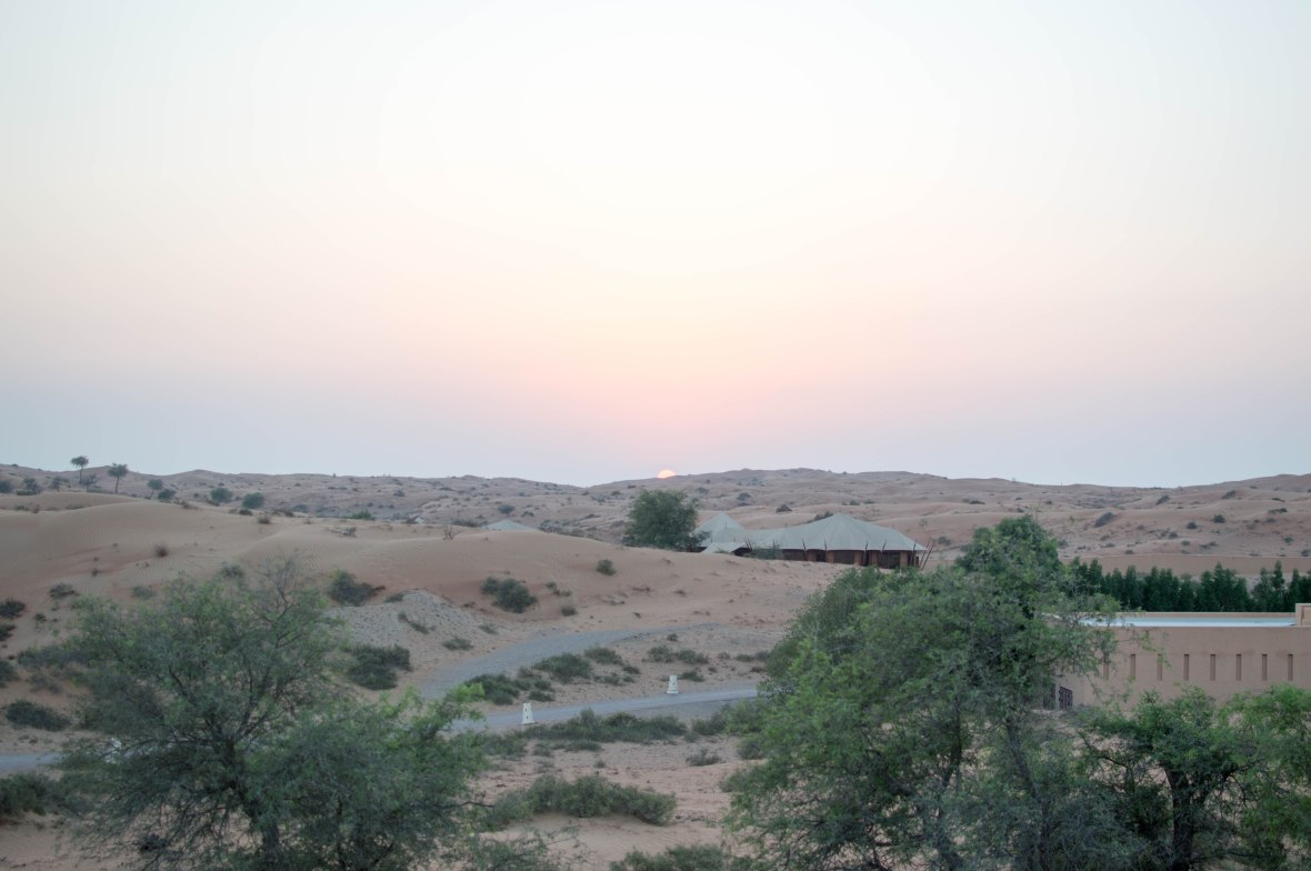 Sunset, Moon Bar, Banyan Tree Al Wadi, Ras Al Khaimah, UAE