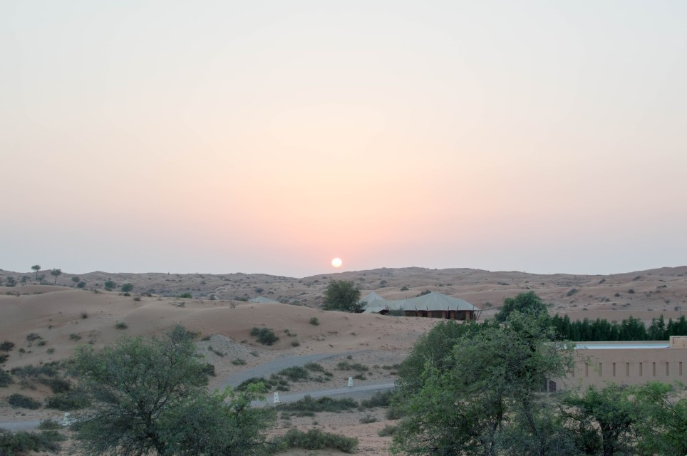 Sunsetting In The Desert, Moon Bar, Banyan Tree Al Wadi, Ras Al Khaimah, UAE