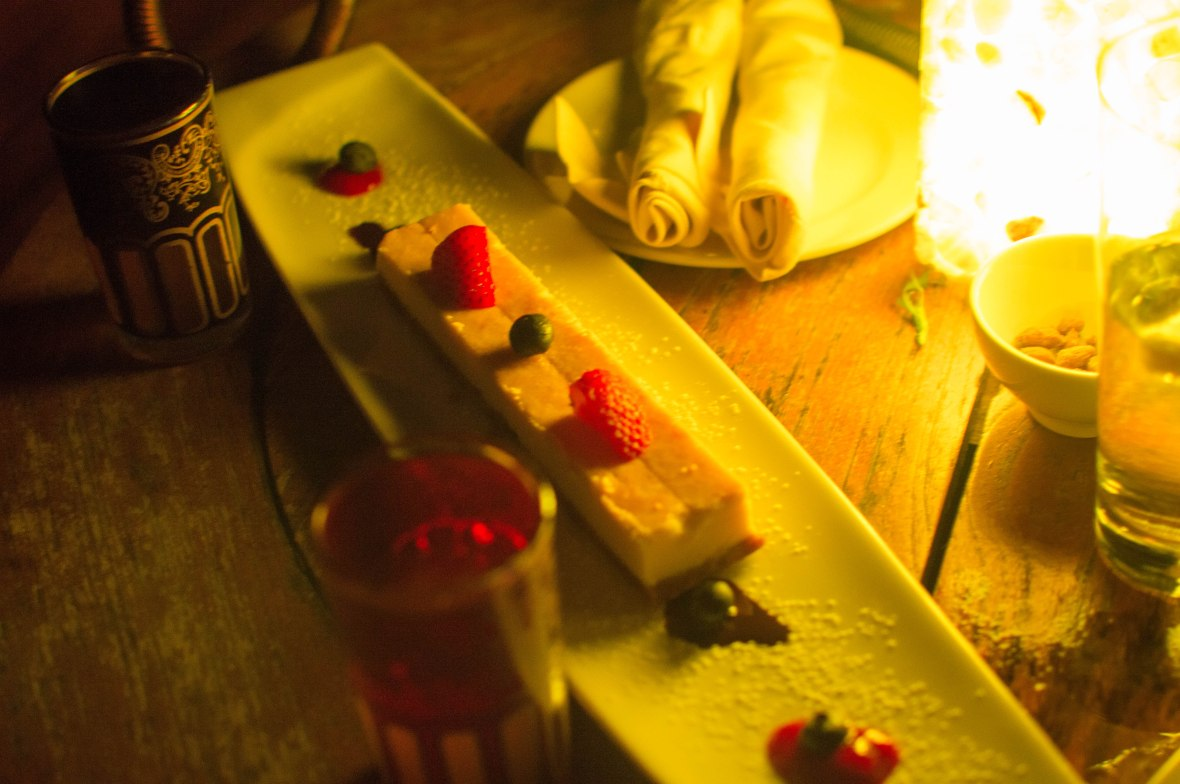 Vanilla Cheesecake, Moon Bar, Banyan Tree Al Wadi, Ras Al Khaimah, UAE