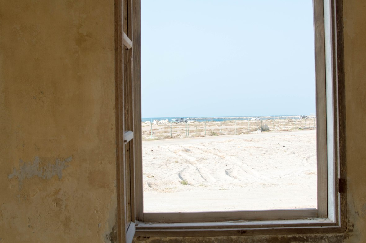 View From Mosque, Abandoned City, Al Jazirat Al Hamra, Ras Al Khaimah, UAE