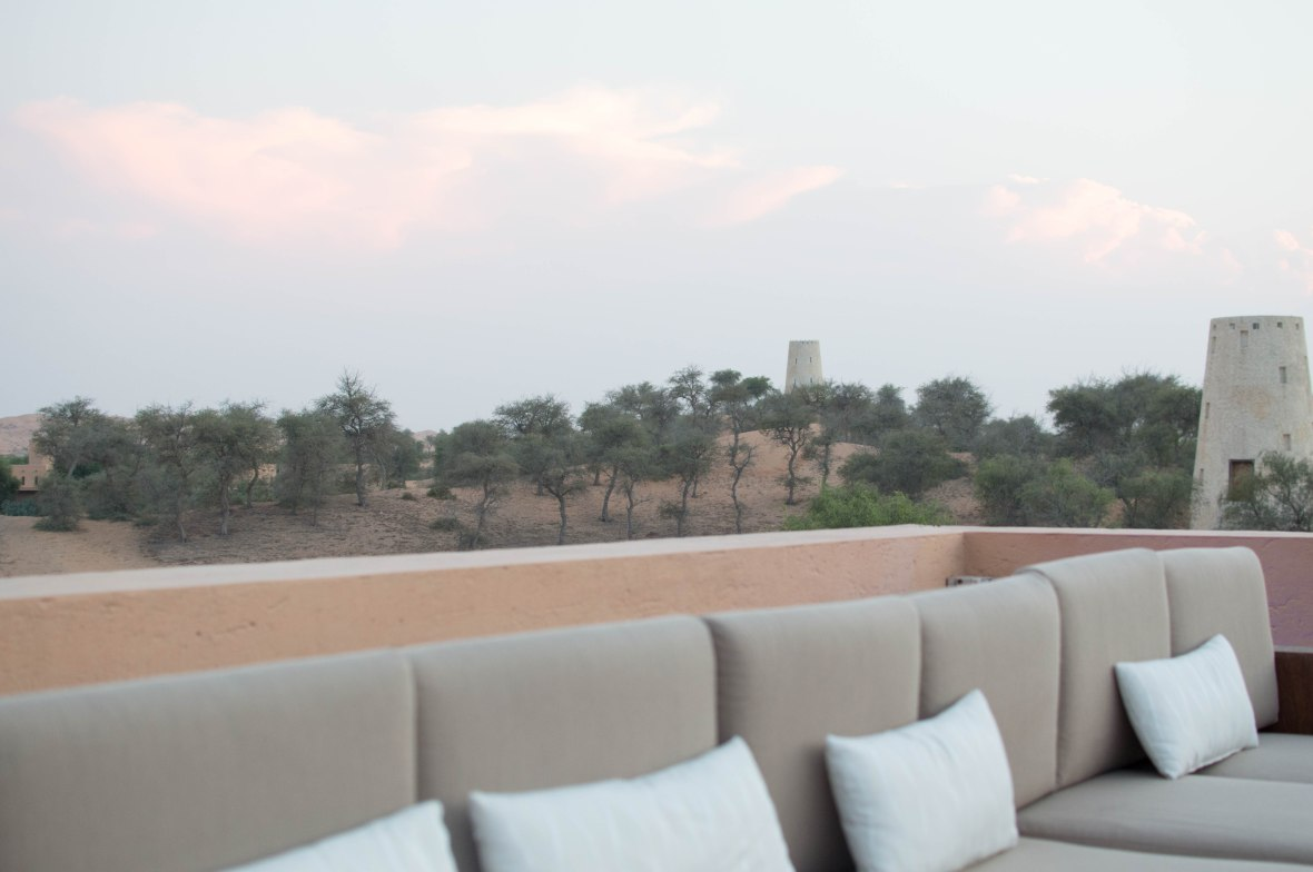 View, Moon Bar, Banyan Tree Al Wadi, Ras Al Khaimah, UAE