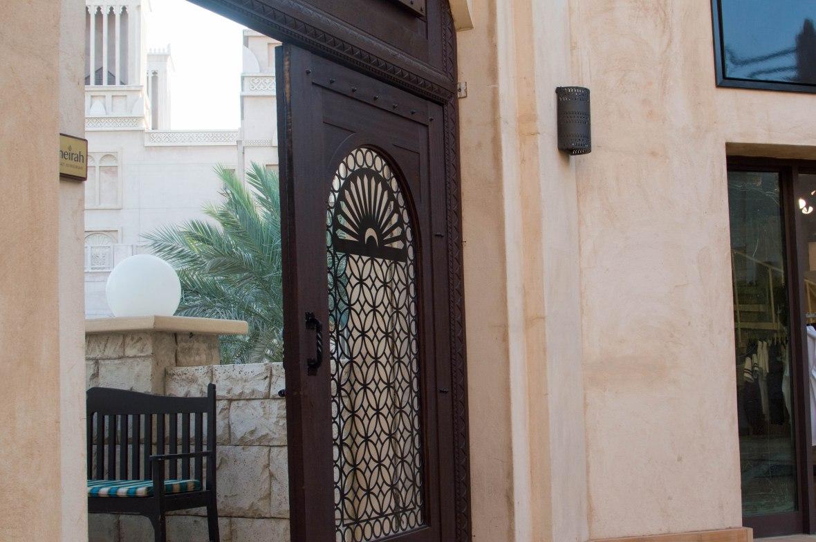 Wooden Doors, Madinat Jumeirah, Dubai, UAE