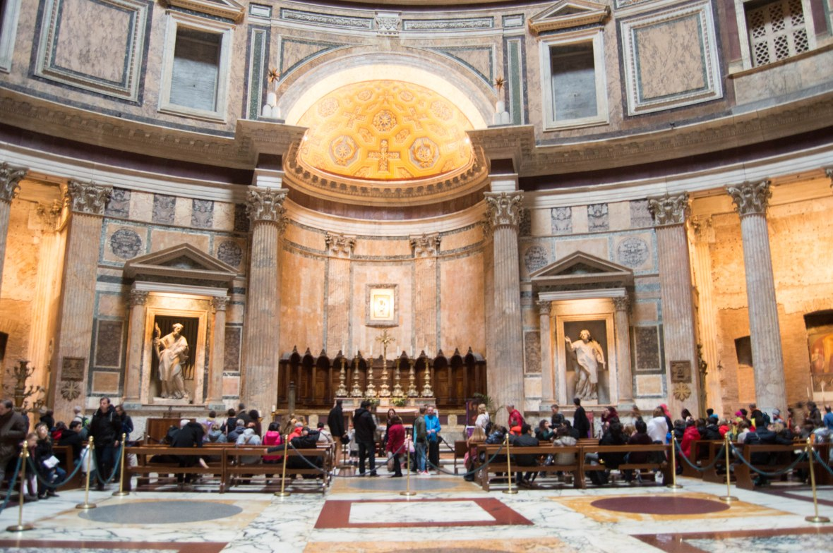 Altar, Pantheon, Rome, Italy